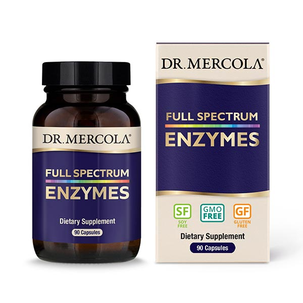 Mercola Full Spectrum Enzymes