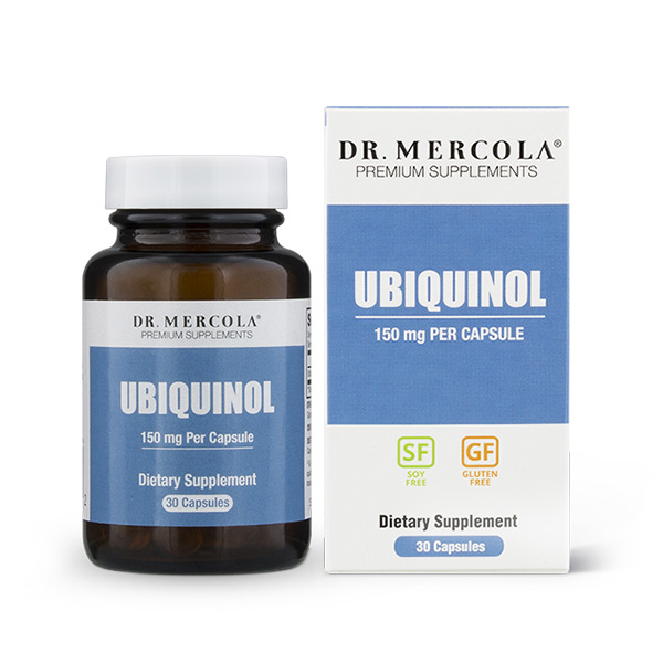 Mercola Ubiquinol 150mg 30's