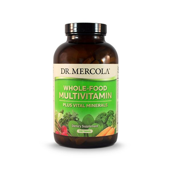 Mercola Whole Food Multivitamin Plus